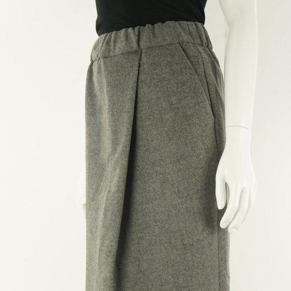 Aritzia Le Fou Wilfred Wool Winter Pencil Skirt